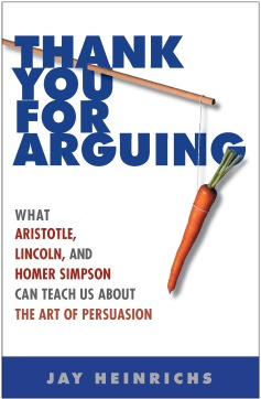Book Cover - Thank You for Arguing