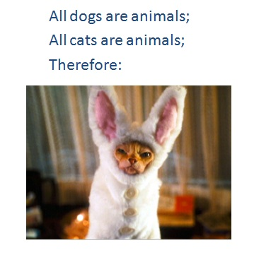 All dogs are cats