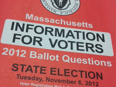 Massachusetts Ballot Question Infrmation Booklet